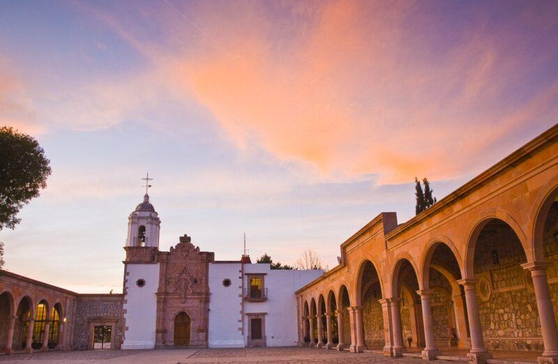 Santuario Virgen del Patrocinio en Zacatecas en México
