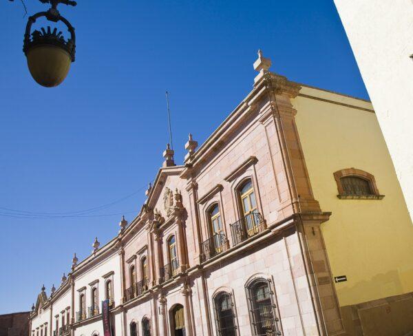 Casa de la Moneda en Zacatecas en México