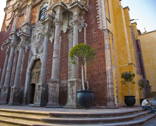 Catedral de Querétaro en México