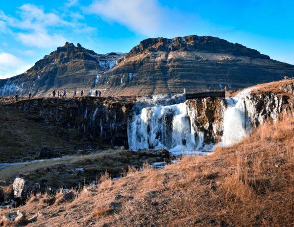 Cascada Kirkjufelfoss en Islandia