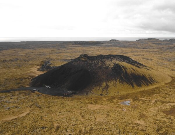 Cráter Saxhóll en Islandia