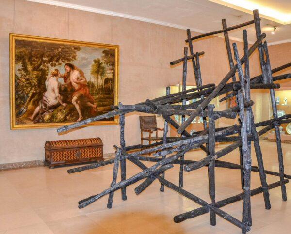 Museo de Caramulo en Tondela cerca de Viseu en Portugal