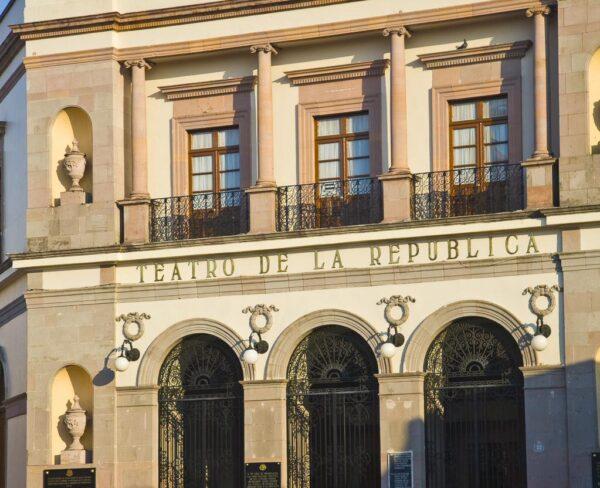 Teatro de la República en Querétaro en México
