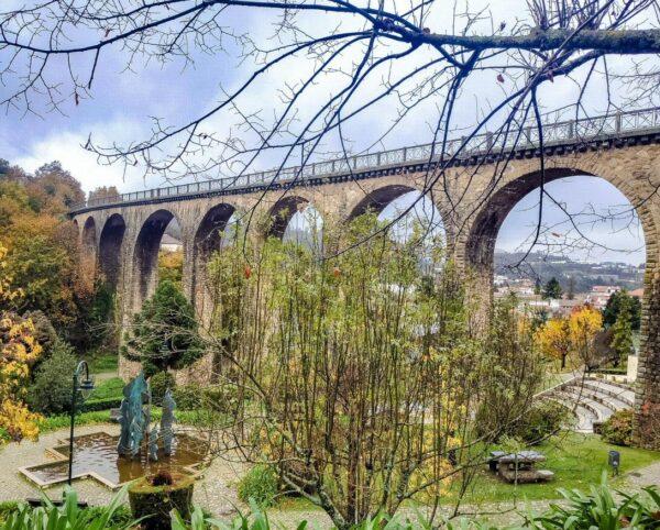 Rincón de Vouzela cerca de Viseu en Centro de Portugal