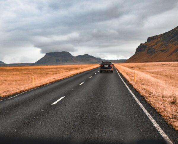 Carretera en Islandia