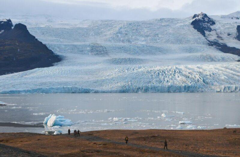 Glaciar Fjallsarlon en Islandia
