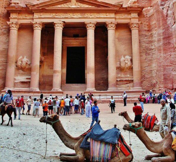 Tesoro de Petra en Jordania