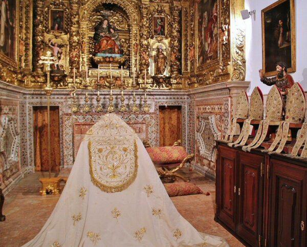 Sacristía de la catedral Sé de Lisboa
