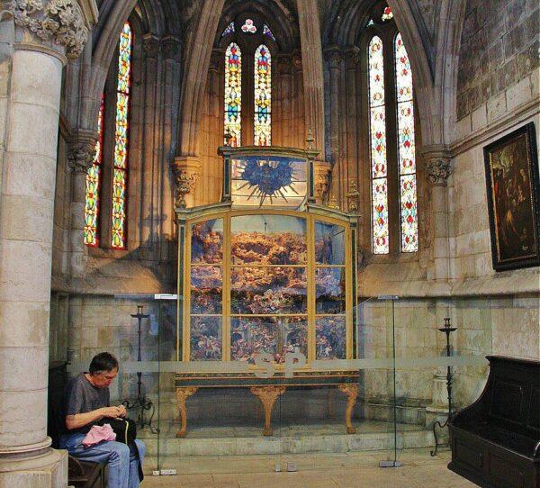 Capilla en la catedral Sé de Lisboa