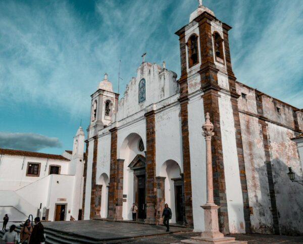 Monsaraz en el Alentejo de Portugal