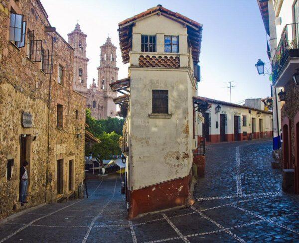 Centro histórico de Taxco en México