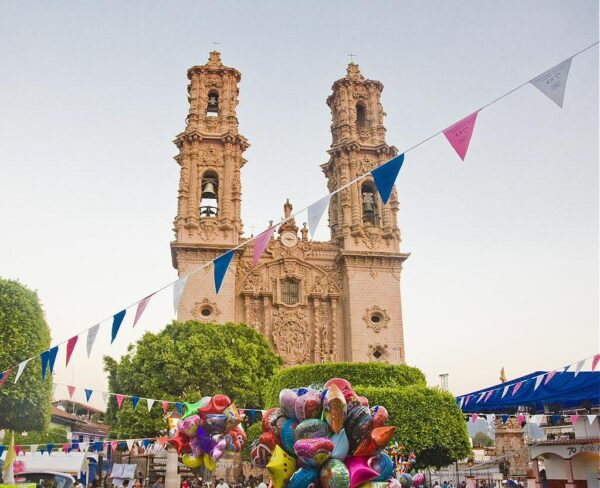 Iglesia Santa Prisca en Taxco en Mexico