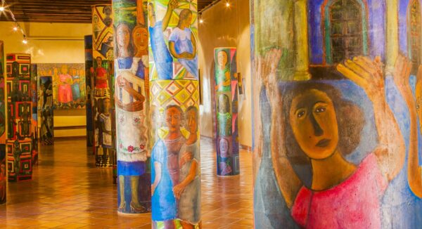 Museo del convento de Santo Domingo en Ocotlán, en México
