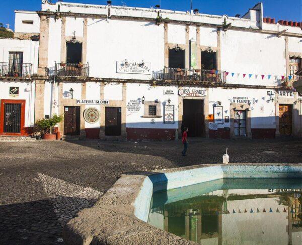 Rincón del centro histórico de Taxco en México