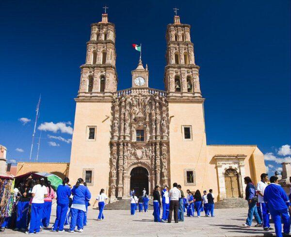 Iglesia de Nuestra Señora en Dolores Hidalgo en México
