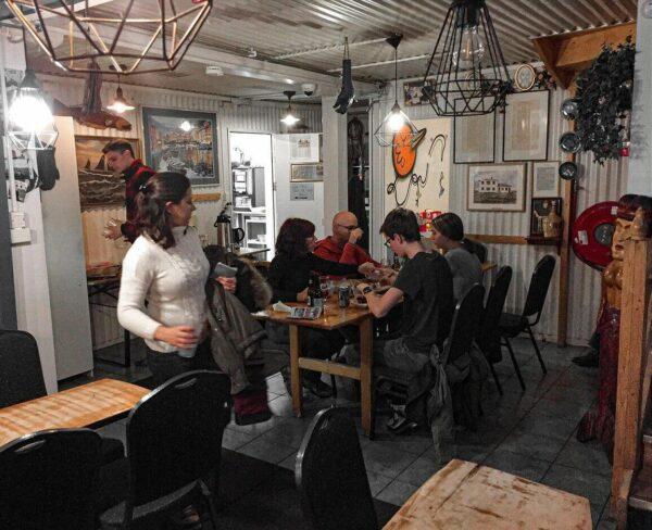 Restaurante en Islandia