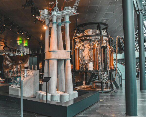 Museo del Petróleo en Stavanger en fiordos noruegos