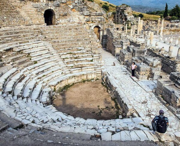 Bouleuterion en Éfeso en Turquía