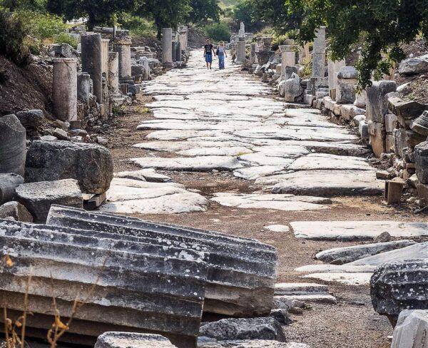 Restos arqueológicos de Éfeso en Turquía