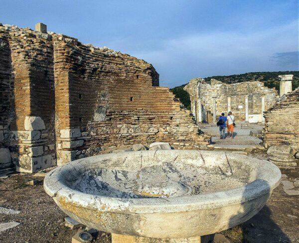 Iglesia de los Concilios en Éfeso en Turquía