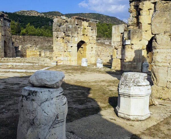 Martyrium de San Felipe en Hierápolis en Turquia