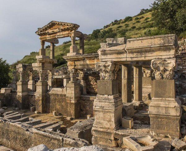 Ninfeo de Éfeso en Turquía