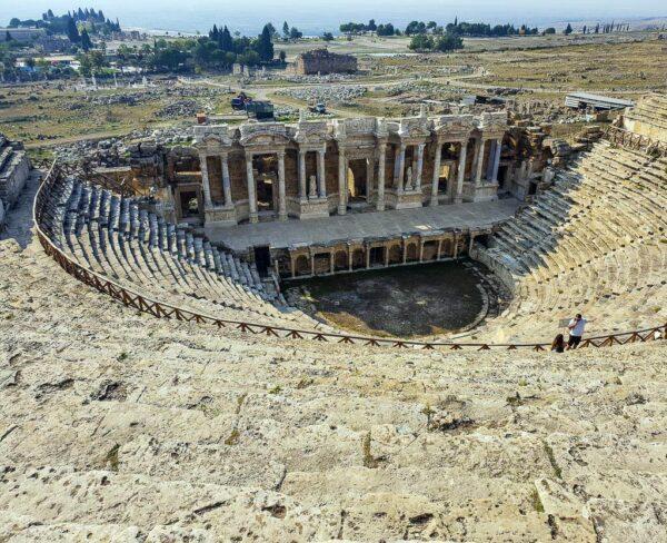 Teatro de Hierápolis en Turquia