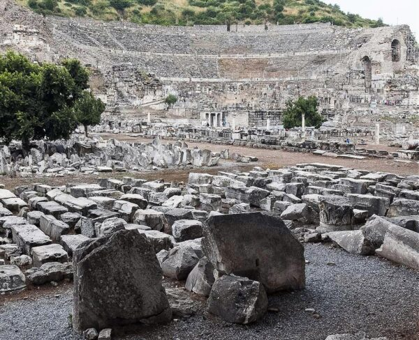 Teatro de Éfeso en Turquía