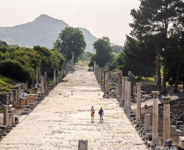 Via Arcadiana de Éfeso en Turquía