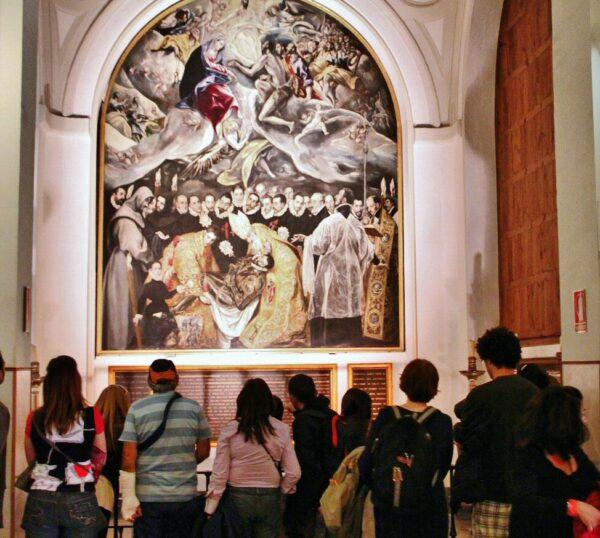 Entierro del Conde de Orgaz del Greco en Toledo