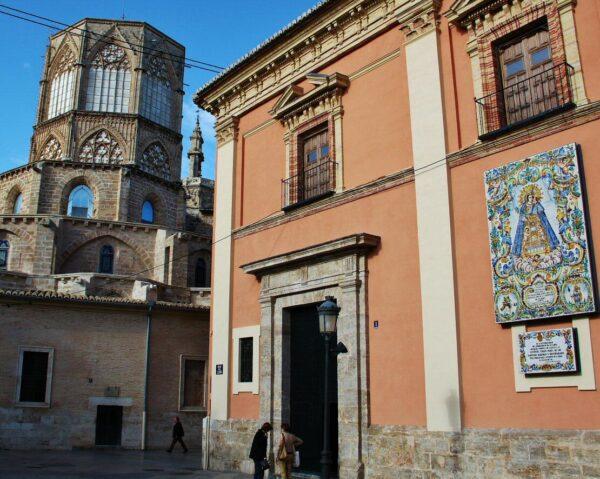 Rincón del centro histórico de Valencia