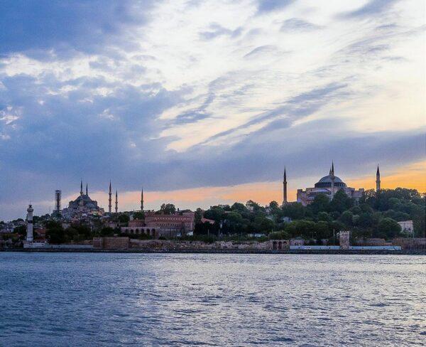 Santa Sofía y la Mezquita Azul en Estambul