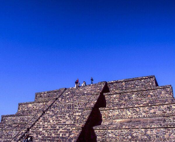 Pirámide en Teotihuacán en México