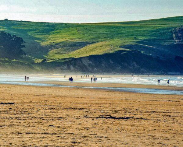 Playa de Oyambre en Cantabria @Foto: Guillén Pérez