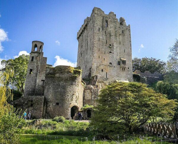 Castillo de Blarney cerca de Cork en Irlanda
