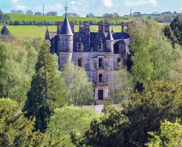 Casa señorial Blarney House cerca de Cork en Irlanda