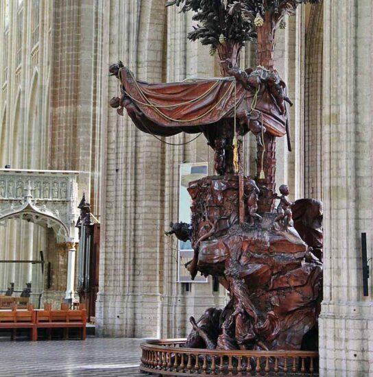 Iglesia de San Pedro en Lovaina en Bélgica