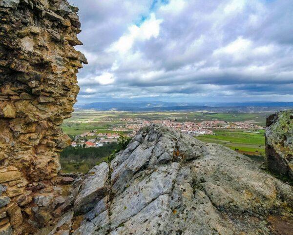 Vistas desde el castillo de Castelo Rodrigo
