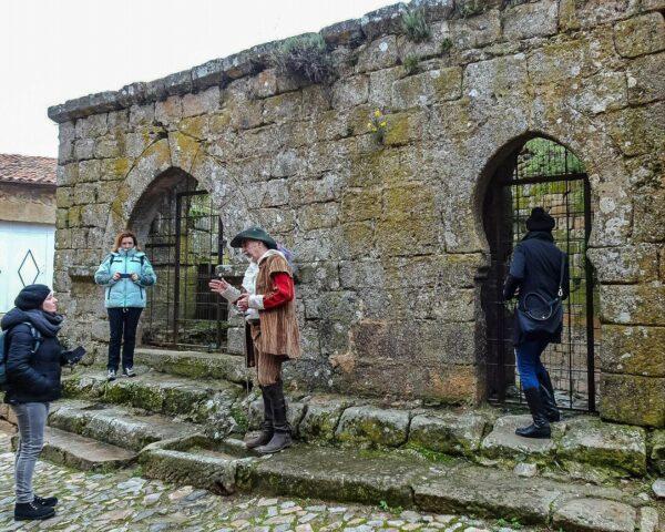 Cisterna de Castelo Rodrigo en la región del Centro de Portugal