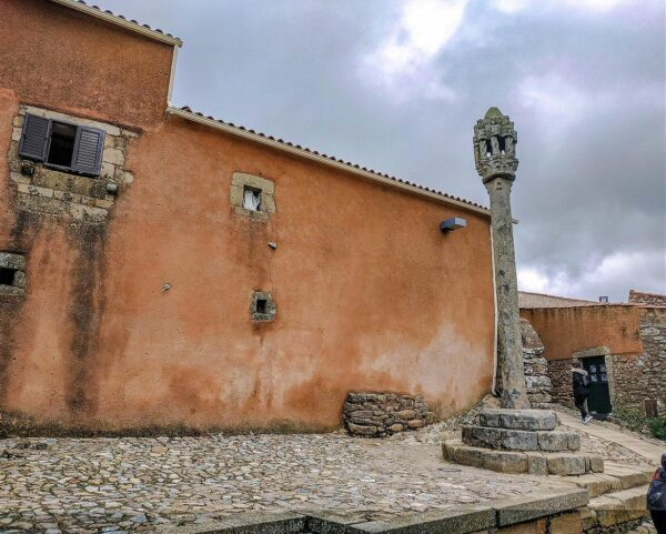 Castelo Rodrigo en la región del Centro de Portugal