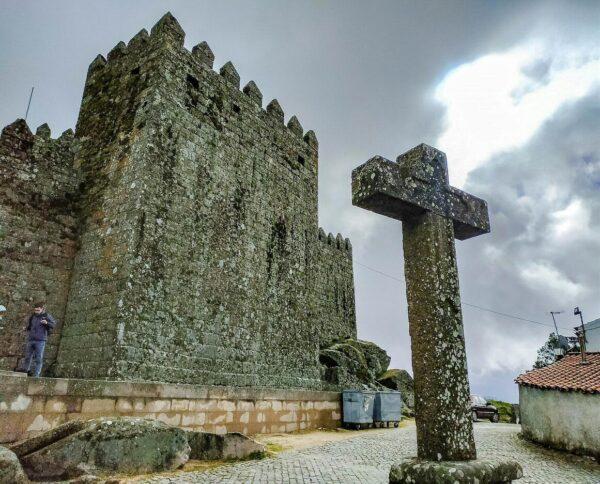 Castillo de Trancoso, aldea histórica en Centro de Portugal
