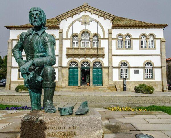 Ayuntamiento de Trancoso, en Centro de Portugal