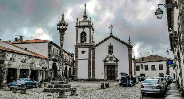 Trancoso, aldea histórica en Centro de Portugal