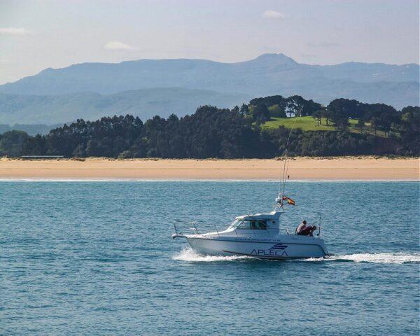 Playa de Somo frente a Santander