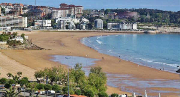 Playa del Sardinero en Santander