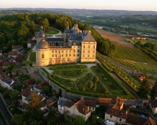 Castillo de Hautefort @OT de Hautefort
