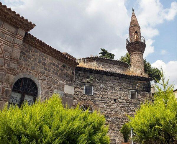 Baños turcos en Bergama en Turquía