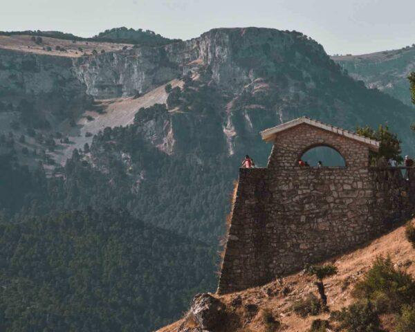 Mirador Las Palomas en Sierra Cazorla en Jaén