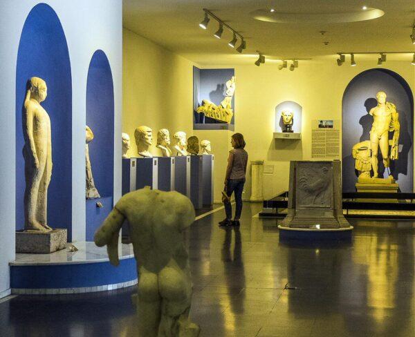 Museo arqueológico de Pérgamo en Bergama en Turquía