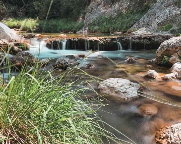 Sendero del río Barosa en Sierra de Cazorla en Jaén